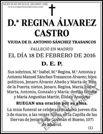 Regina Álvarez Castro